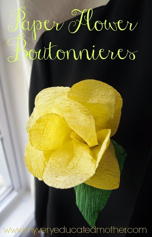 yellowboutonniere
