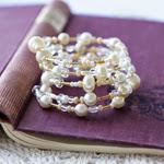 Wire & Bead Bracelet