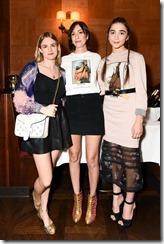 Nathalie Love, Gia Coppola, Rowan Blanchard