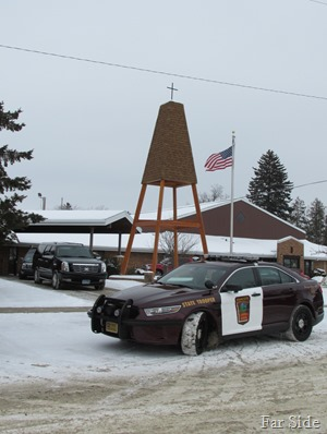 Highway Patrol escort