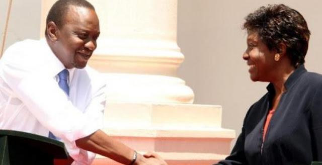 Ngilu makes U-Turn now recognizes Uhuru as president