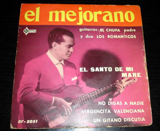 El Mejorano .. vinilo años 60