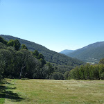 Looking down the Thredbo Valley from near the Snowgums midstation (276323)