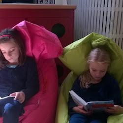 In de leestuin