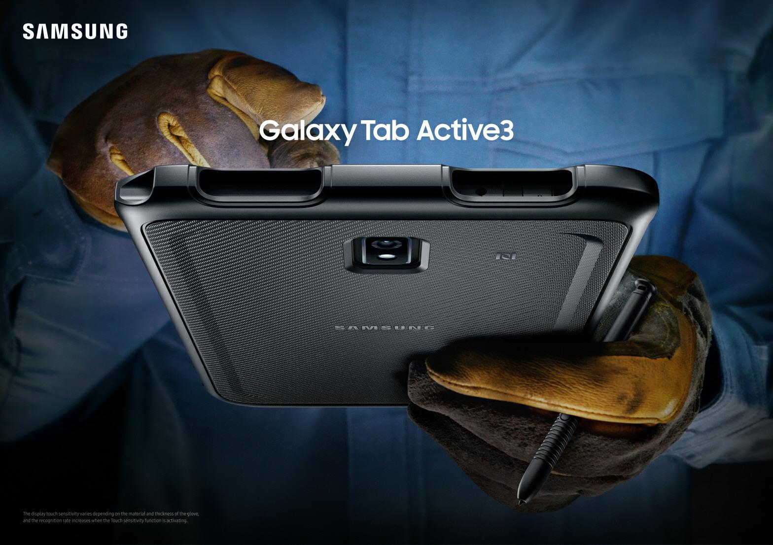 Samsung เปิดตัว Galaxy Tab Active 3 สมาร์ทแท็บเล็ตรุ่นล่าสุดตอบโจทย์ทุกการทำงานที่ท้าทาย