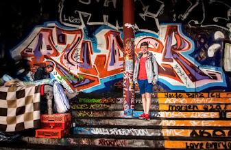 Photo: alte und junge Mitmenschen in Hamburg / St. Pauli goo.gl/B1OsX8