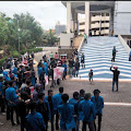 Tuntut Bebaskan BPP, Mahasiswa Ekonomi Unismuh Makassar Unjuk Rasa