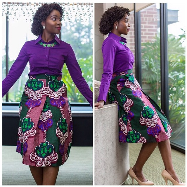 AMAZING OFFICE GOWN STYLES FOR NIGERIAN LADIES IN 2019 5