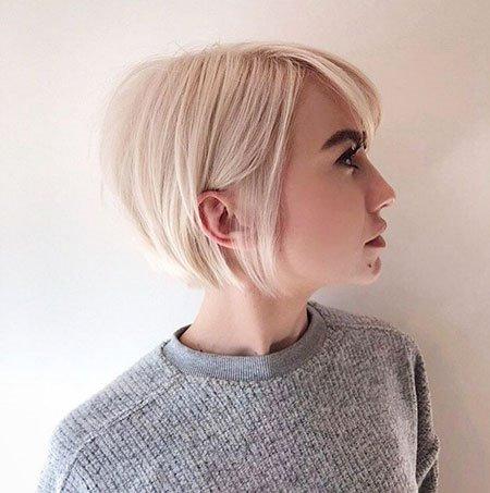Short Blonde Bob Hairstyles For Women