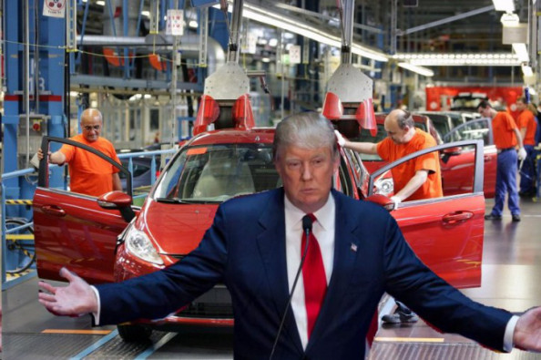 Ford to build cars in Mexico; will employ 2,800 Mexicans