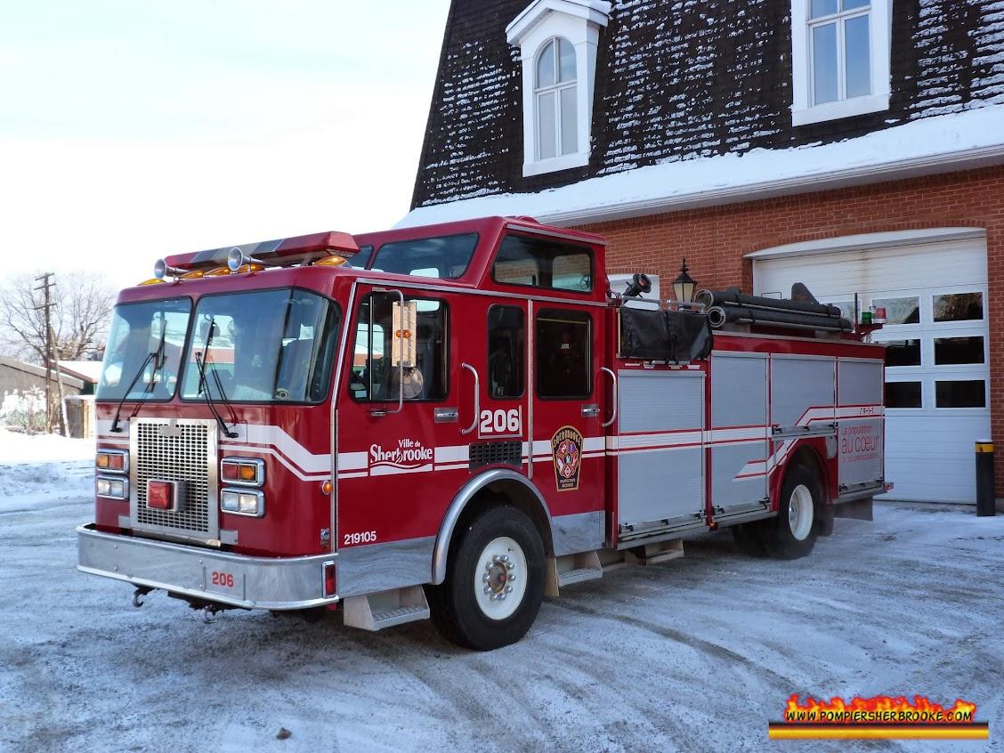 Autopompe 206 / Pompier Sherbrooke
