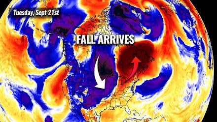 Ψυχρή εισβολή στις βορειοδυτικές Ηνωμένες Πολιτείες - Η θερμοκρασία θα πέσει κατά 30 βαθμούς μέσα σε μόλις 36 ώρες