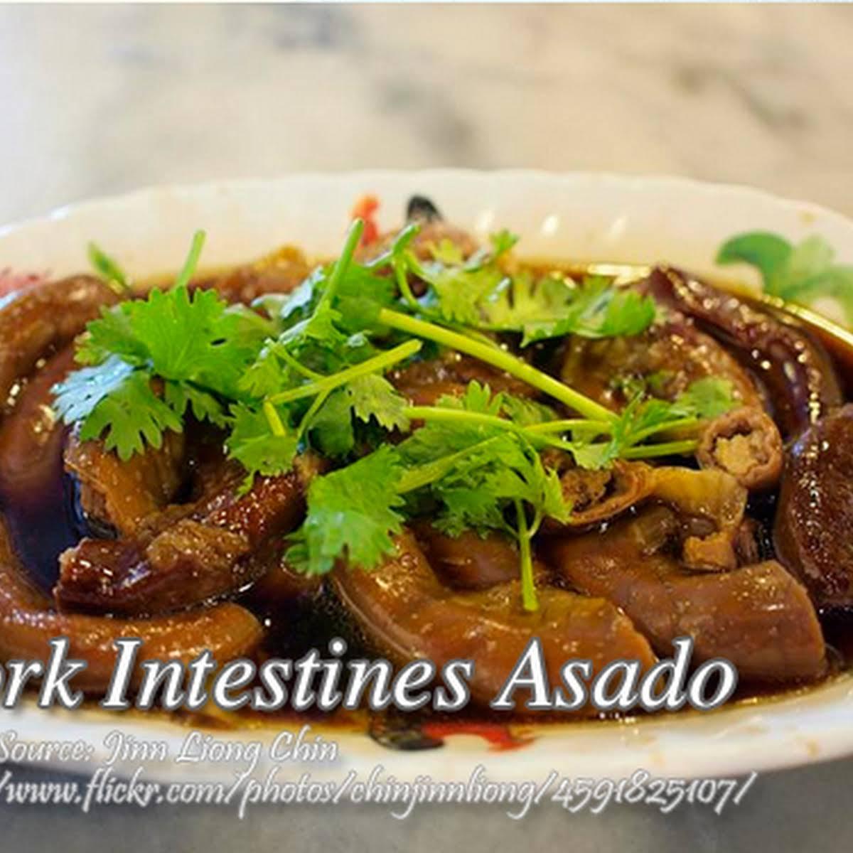 Pork Intestines Asado