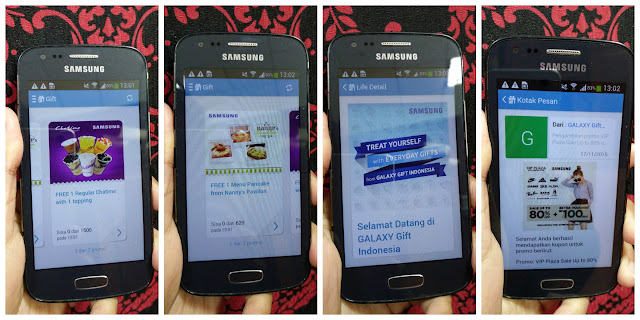 Samsung Galaxy Gift Indonesia 2
