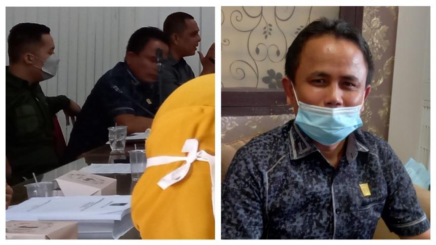 Heaering DPRD Padang dan DKK, Amran Tono Ngamuk: Ibu-ibu Berdosa kepada Masyarakat...