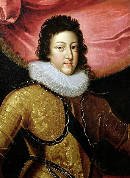 Frans Pourbus the Younger - Portrait of Louis XIII.