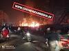 मोतिहारी के बलुआ टाल में टेंट गोदाम में लगी भीषण आग, अग्निशमन दस्ता आग बुझाने में जुटी.