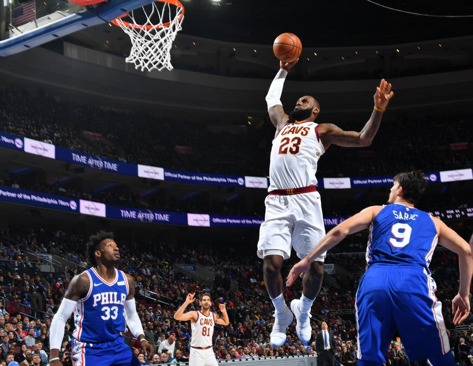 e6a2f62b6a3 ... LBJ Wears Whiteout Nike Soldier 11 as Cavs Dominate 76ers ...