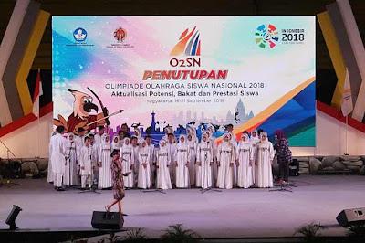 O2SN Olimpiade Olahraga Siswa Nasional 2018
