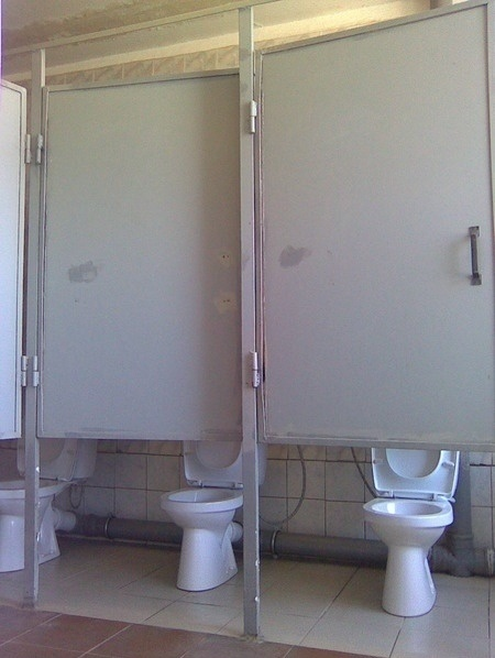 Public Toilet Design Fail