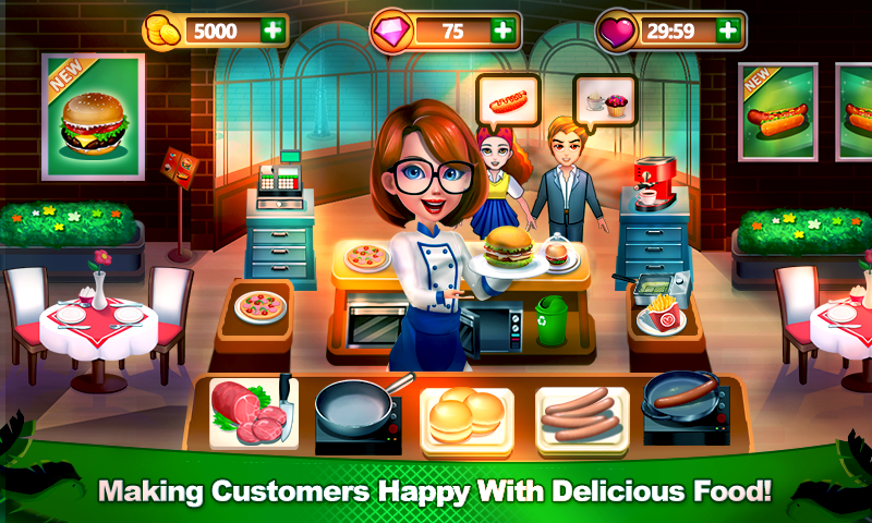 Chef Dash: Cooking Adventure & New Restaurant Game- screenshot