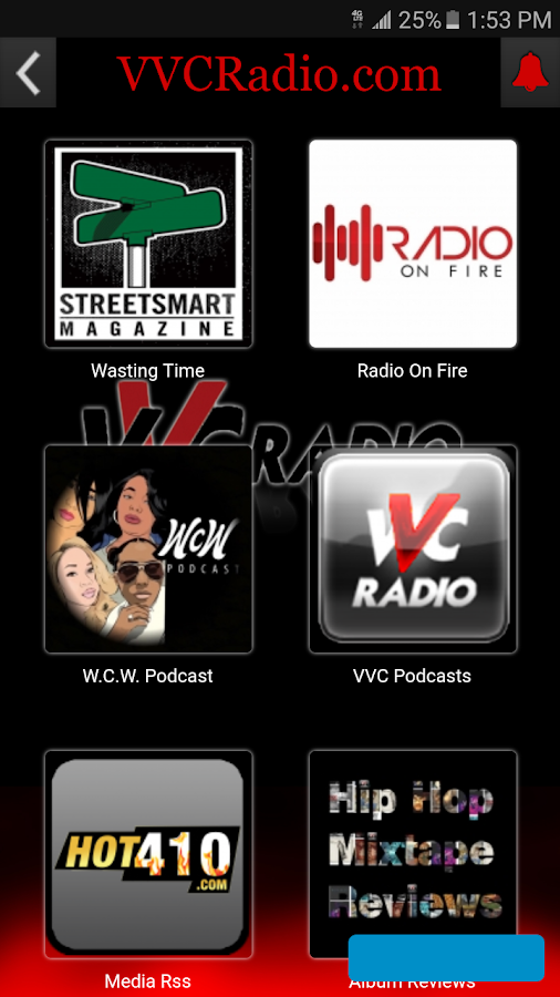 VVCRadio Streaming- screenshot