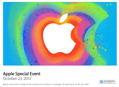 Apple Special Event:Watch a live video stream of the special event online or via Apple TV starting at 10:00 a.m. PDT.