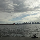view of Vancouver in Vancouver, British Columbia, Canada