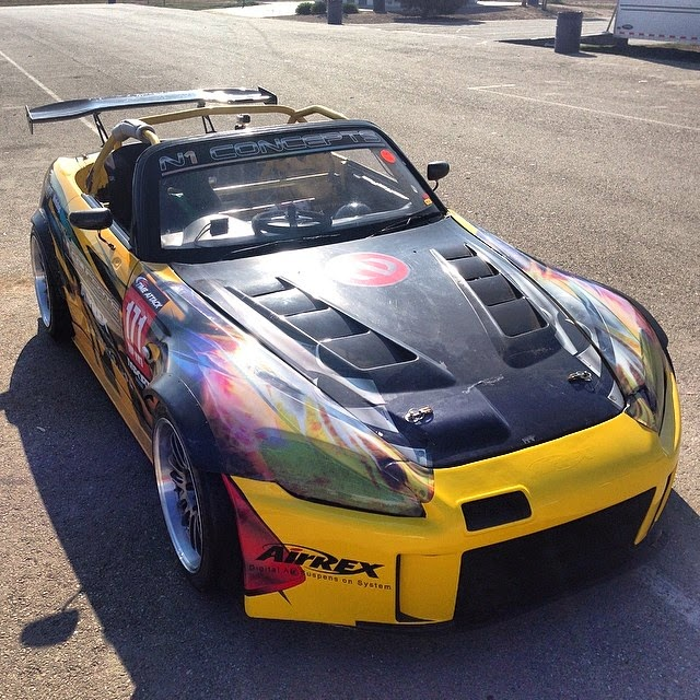 S2ki Honda S2000 Forums: S2000 Race Car On Air Suspension At Buttonwillow