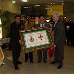 020- Friburgo- gennaio 2008- Quadro ricamato con gli stemmi di Padova e Friburgo.jpg