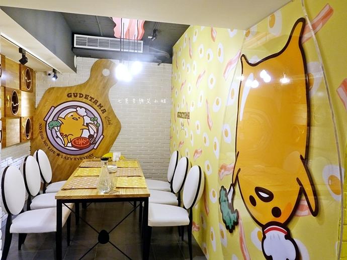 14 Gudetama Chef 蛋黃哥五星主廚餐廳 台北東區美食