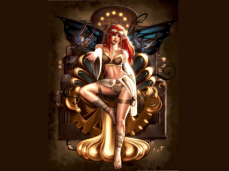 Little Mage Beauty, Fantasy Girls 1