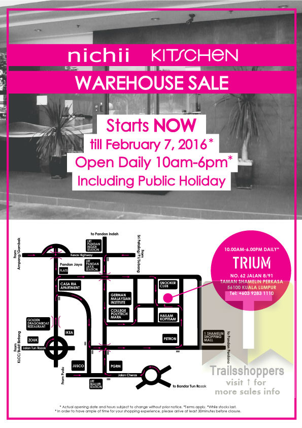 kitschen Apparels Warehouse Sale 2016