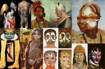 BODY PAINTING HISTORY  BODY ART HISTORY