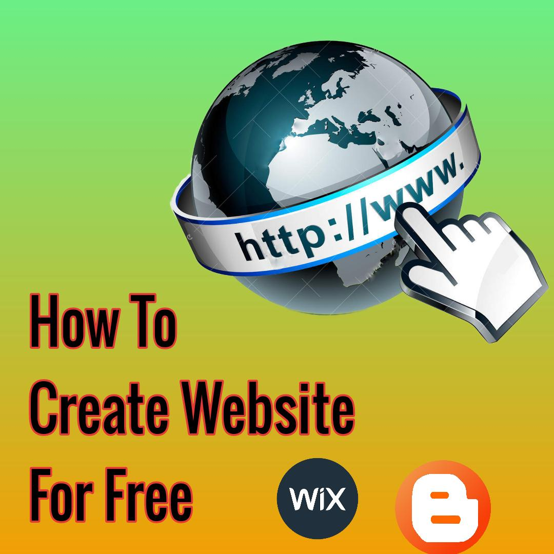 How to create website for free