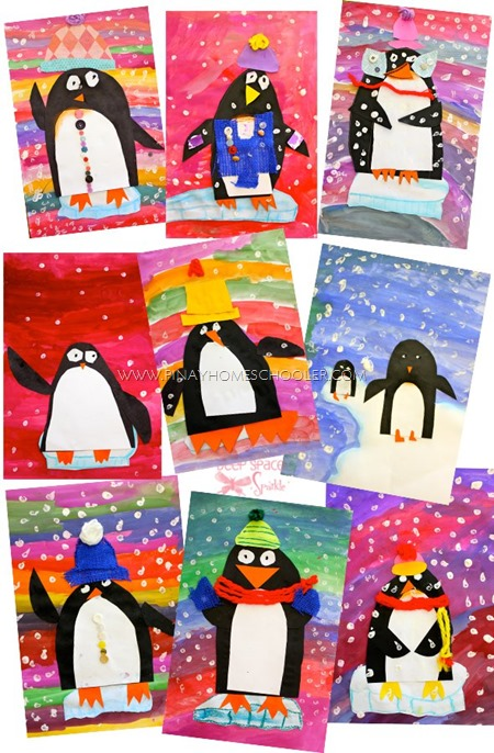 First-Grade-artsy-penguins1