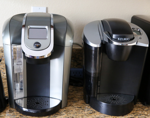two kuerig coffee makers