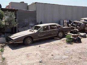 Abandoned Aston Martin Lagonda