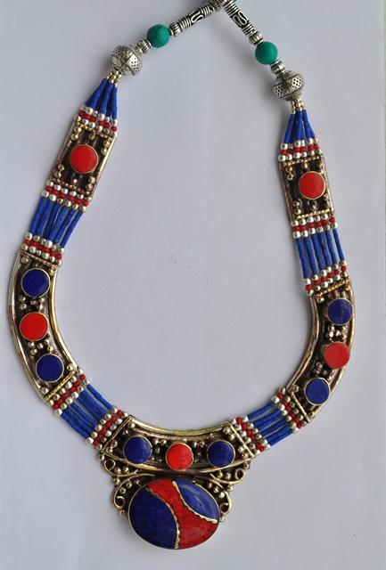 German Silver Necklace Pendant