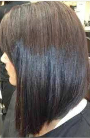 Long Stacked Bob Hairstyle On Pinterest | LONG HAIRSTYLES