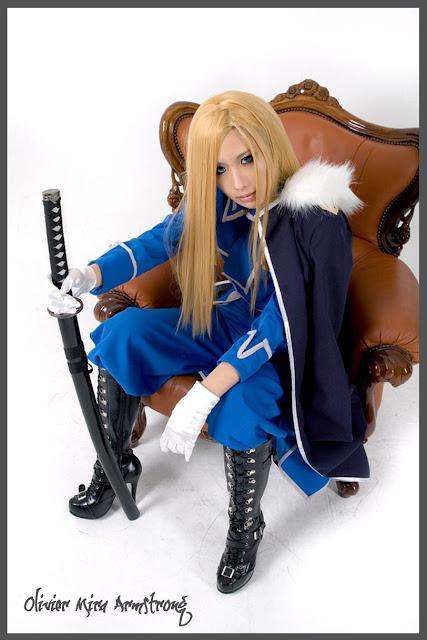 Fullmetal Alchemist: Olivier Mira Armstrong Cosplay by Tasha