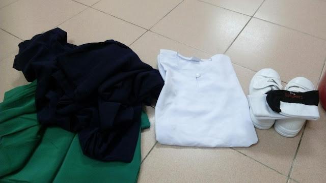 Shopping Baju Sekolah Amani