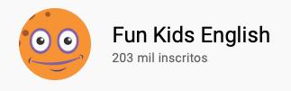 101 canais do YouTube para aprender inglês de graça Fun Kids English