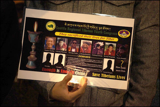 Self-Immolations in Tibet: Candle Vigil in Downtown Seattle - IMG_0014%2B1-28-12%2B72Bb%2BCandle%2BVigil.jpg
