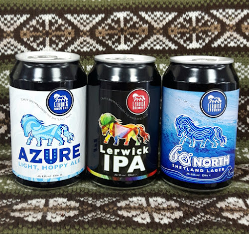 Lerwick Brewery, 330ml cans, craft beer, Gerry's Kitchen