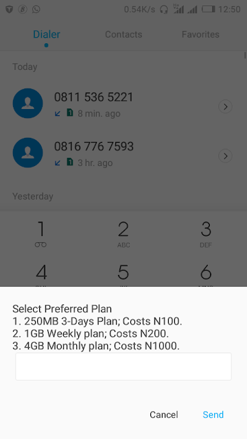 Biggest Awoof Data In History!  Mtn 4gb Data For Only N1000