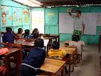 Joshua Teaching at USDA School (Alta Trujillo, Peru)