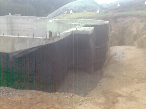 Photo: getting ready for backfill