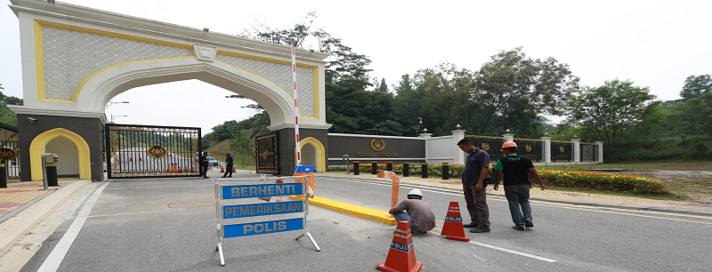 BARRIER GATE INSTALLATION AT MALAYSIAN NATIONAL PALACE