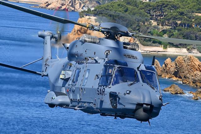 El Ejército del Aire recibe su primer helicóptero NH-90 para misiones SAR y CSAR, entre otras